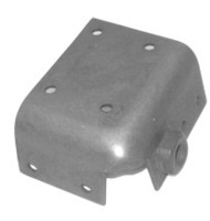 1963 Reinforcement, left outer seatbelt mounting plate