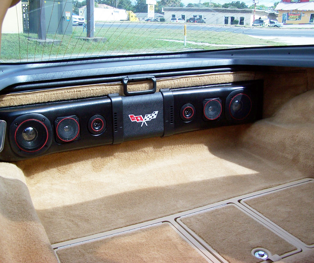 1963 - 1982 Corvette Rear Speaker 200w Sound Bar - Davies Corvette Parts & Accessories