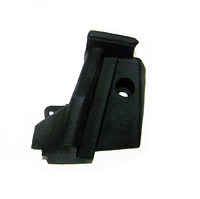 1968 - 1969E Weatherstrip, right body lock pillar (convertible)