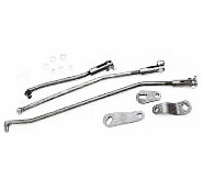 Corvette Linkage Set, shifter 4 speed transmission (Borg Warner)
