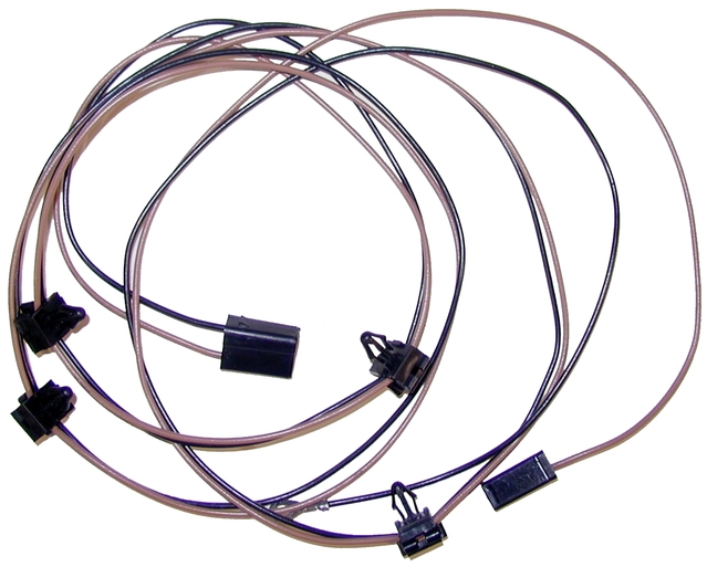 1973 - 1975 Corvette Wiring Harness, hood cowl induction ...
