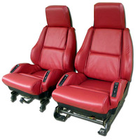 Corvette Seat Cover Set, replacement leatherette [with Sport AQ9]
