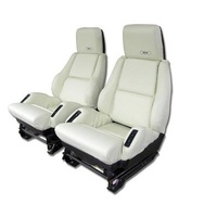 1988 Seat Cover Set, original leather [sport with 35th edition]