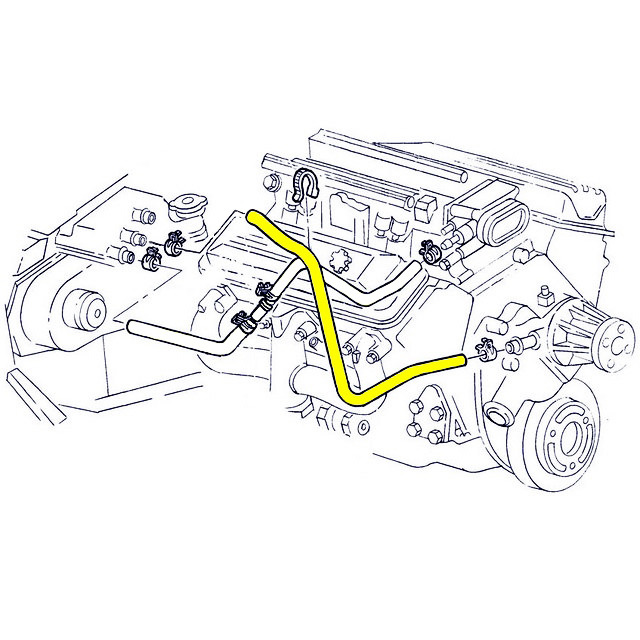 1991 Corvette Engine Diagram