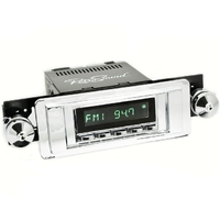 Corvette RetroSound Laguna Direct Fit AM/FM Radio with auxiliary input