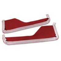 Corvette Inner Door Trim Panel Carpet (pair)