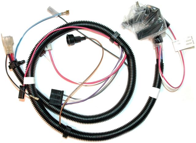 1979 Corvette Wiring Harness  Engine   Corvetteparts Com
