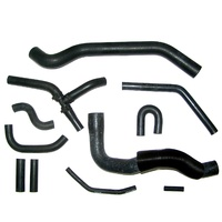 1986 - 1987 Engine Cooling System Rubber Hose Set [Convertible with KC4]