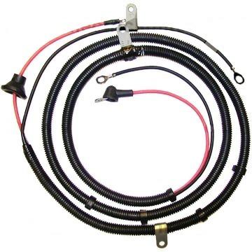 corvette wiring harness, alternator charging (with um2 or un3 option)