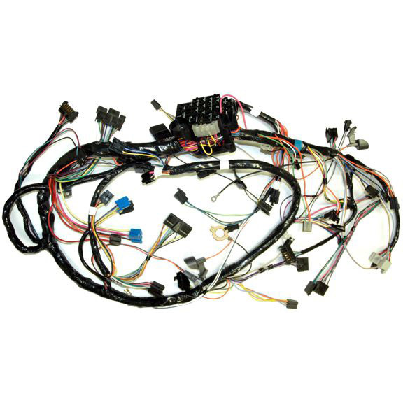 corvette wiring harness, main dash (manual transmission)