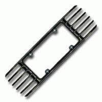 1991 - 1996 C4 Rear License Frame Grille
