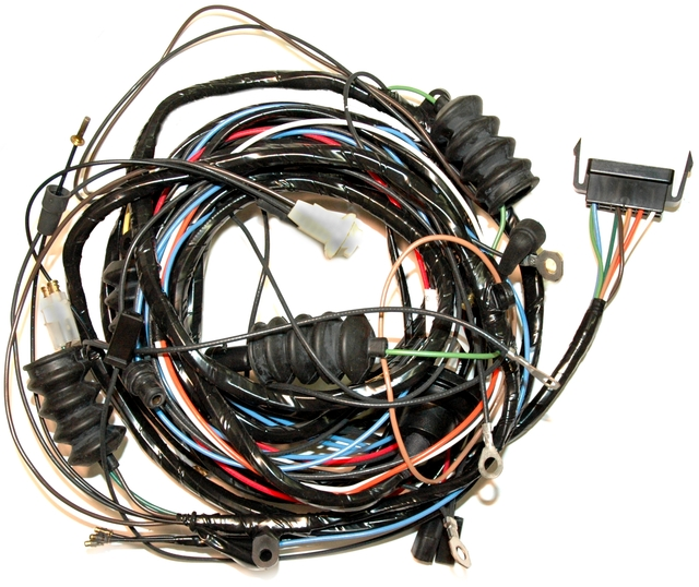 1969 Corvette Wiring Harness  Rear Body With Fiberoptics