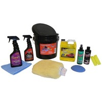 "Corvette Pro Wash/Wax & Detail Bucket Kit, ""Garage One"" products"