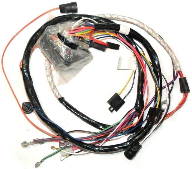 1975 corvette wiring harness engine automatic with seatbelt rh corvetteparts com