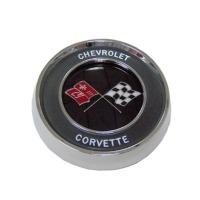 Corvette Horn Button with Emblem