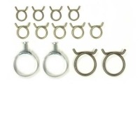 1959 - 1960 Clamp Set, engine cooling hose