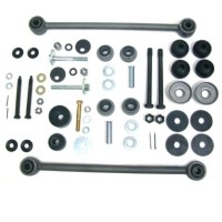 1963 - 1974 Rear Suspension Bushing Rebuild Kit (with larger diameter camber rod bushings)