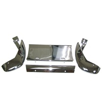 1958 - 1962 Guard Assembly, front bumper with license mounting plate
