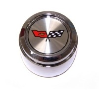 1982 Aluminum Wheel Center Cap with Emblem (without Collectors Edition)