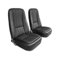 1968 Seat Cover Set, vinyl with basketweave inserts as original