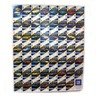Poster, 52 years / Corvette playing cards - uncut sheet