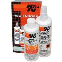 Recharger Kit, K&N filter cleaner