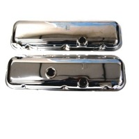 Corvette Valve Cover, pair 427/454 engine (chrome)