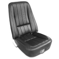 1969 Seat Cover Set, optional leather as original for deluxe interiors