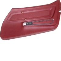 Corvette Panel, right door oxblood standard