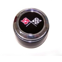 Corvette Aluminum Wheel Center Cap with Emblem