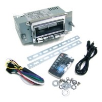 Corvette Radio, AM / FM stereo (aftermarket with original styling)