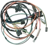 1972 - 1973 Wiring Harness, factory equipped air conditioning & heater