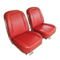 1963 Seat Cover Set, optional leather as original