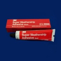 Adhesive, weatherstrip rubber cement 5oz. black