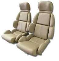 1993 Seat Cover Set Mounted on Foam, replacement leatherette [standard without AQ9 option]