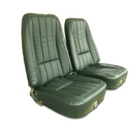 1969 Seat Cover Set, vinyl with comfortweave inserts as original for standard interiors