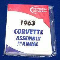Corvette Manual, assembly manual loose leaf