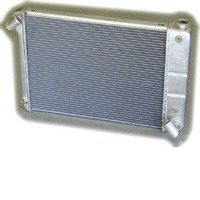 "1966 - 1967 Radiator, aluminum ""Direct Fit"" super-cool (427 - with internal transmission oil cooler)"