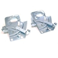 Corvette Latch Assembly, pair hood lock (on firewall)