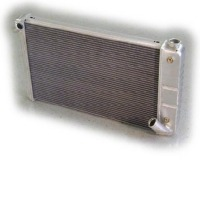 "1969 - 1972 Radiator, aluminum 26"" wide ""Direct Fit"" super-cool (350 engine / automatic)"