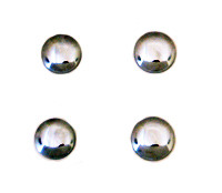 1984 - 1996 Body Accent Rear Hatch Glass Chrome Outer Nut Cap Set