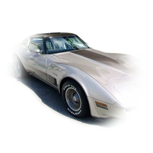 1982 Corvette Decal Hood Amp Side Fader Collectors
