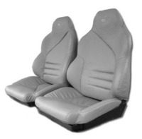 "1996 Seat Cover Set with Attached Foam, original leather mounted to ""Your"" seatback structure [with Collectors Edition]"