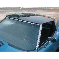 Corvette Roof, pair transparent acrylic material