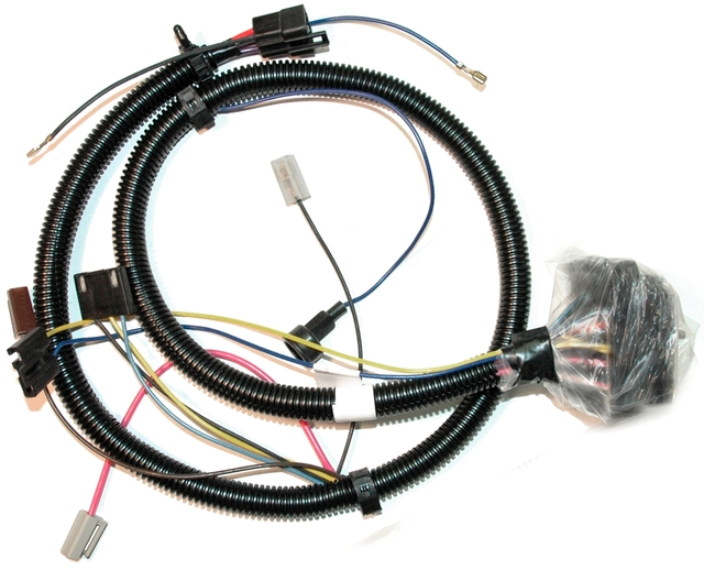 1977l Corvette Wiring Harness  Engine   Corvetteparts Com