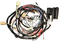 Corvette Wiring Harness, main dash & headlamp
