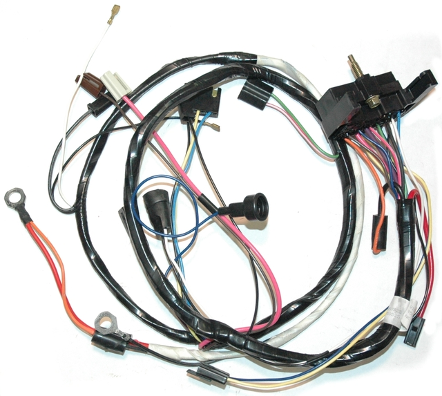 1976 Corvette Wiring Harness  Engine  Manual Transmission
