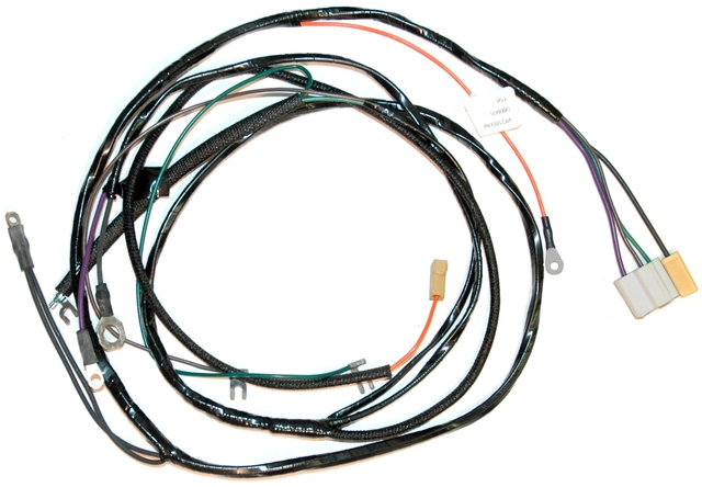 1956 Corvette Wiring Harness, engine (manual transmission ...
