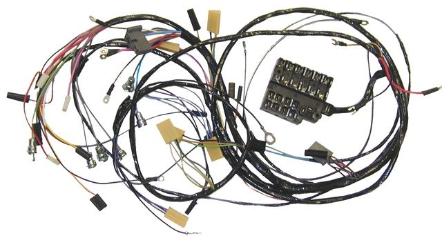 1958 1961 corvette wiring harness main dash headlamp corvette wiring harness main dash headlamp
