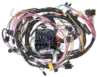 Corvette Wiring Harness, main dash (with factory equipped  air conditioning)
